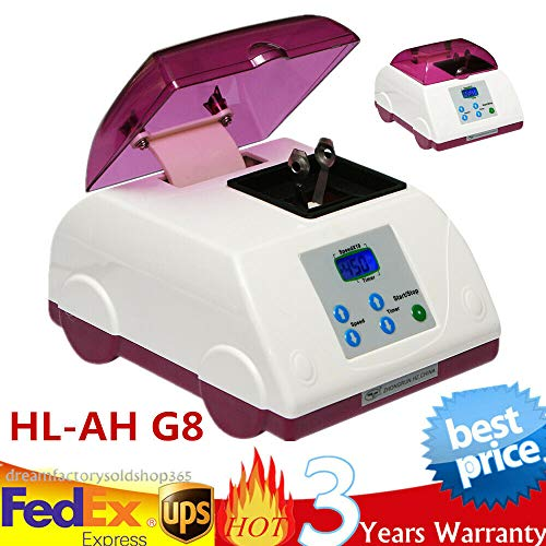 SD&ZC High Speed Digital Amalgamator Dental Lab Capsule Mixer HL-AH G8 Purple USA