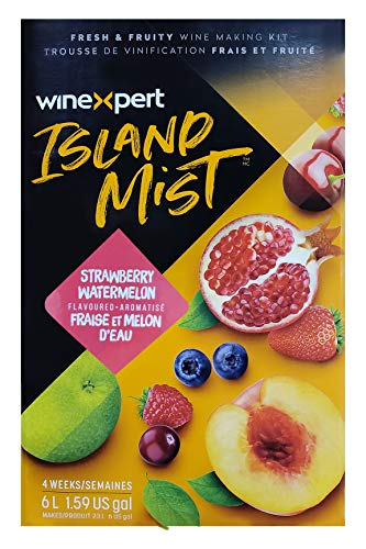 Midwest Homebrewing and Winemaking Supplies - HOZQ8-1492 Island Mist Strawberry Watermelon White Shiraz