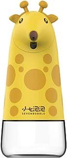 Automatic Soap Dispenser, Infrared Motion Sensor Touchless Smart Foam Soap for Kids Soap Dispenser Liquid Bottlesyellow