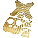 TACO-RC Carbon Fiber Skin Sticker Decal For DJI Phantom 4 Remote controller Gold
