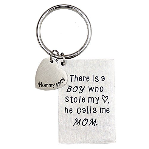 O.RIYA from Son Keychain, There is A Boy Who Stole My Heart, He Calls Me Mom (White)