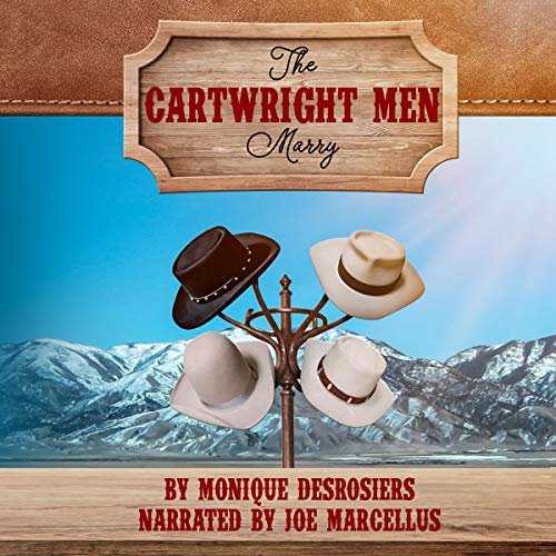 『The Cartwright Men Marry』のカバーアート