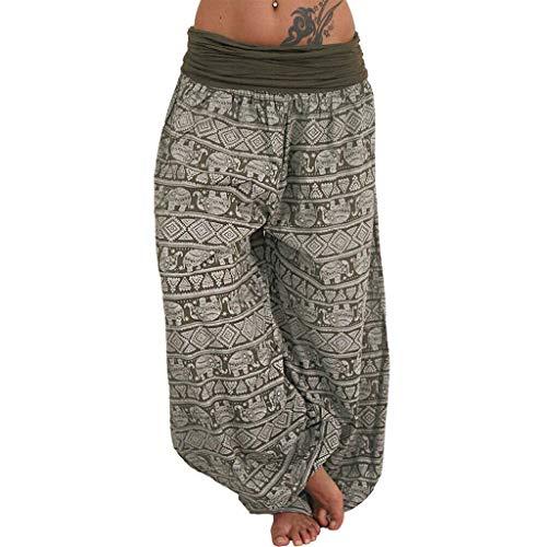 Wtouhe Femme Pantalons,2021 éTé Automne Yoga Pantalons Sarouel Legging Casual Eté Confortable Mode DéContracté Nouveaux Grande Taille Pantalon Large Jambe Bas éVasé Lisses Plaine Pantalon Taille 40-58
