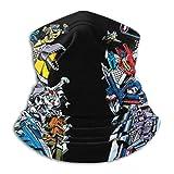 Transformers Decepticons Unisex Face Ma-sk Neck Gaiter Balaclavas Face Cover Pañuelo a prueba de viento para exteriores