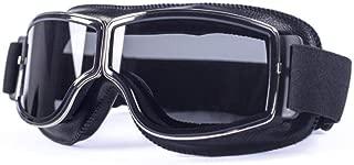 Occhiali da Corsa off Road Occhiali Anti-Polvere JullyelegantIT Occhiali da Equitazione per Moto Occhiali Antivento Occhiali da Sci per Snowboard Occhiali da Bicicletta Pieghevoli Vintage