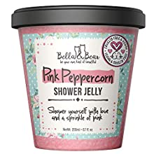 Bella and Bear - Pink Peppercorn Shower and Bath Jelly 6.7oz - Cruelty Free - Vegan