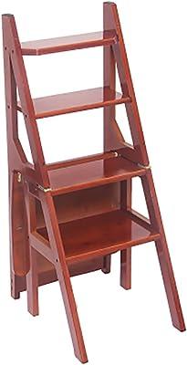 WZN Silla de bambú Escalera Inicio de múltiples Funciones Creativa Cuatro Capas escaleraKORADO escaleras Interiores (Color : 2#, Size : 2#): Amazon.es: Hogar