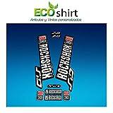 Ecoshirt VP-N2O0-T3AK Pegatinas Stickers Horquilla Rock Shox SID 2018 Am133 Fork Aufkleber Adesivi