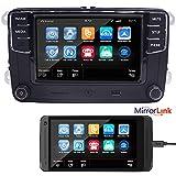 OEM 6,5' Auto Radio Car Audio Stereo RCD330G+, RCD510,MirrorLink,Bluetooth,USB,RVC,AUX,für VW Golf,Polo,Touran, Caddy, Passat, CC