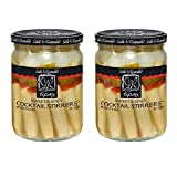 Sable & Rosenfeld Cocktail Stirrers - Earth Kosher - Sweet & Spicy Tipsy Cocktail Stirrers - 2 Pack (16 oz each)