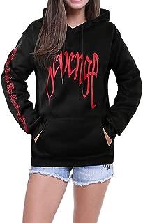 ZAWARA Unisex Revenge Hoodies Oversized Hip Hop Pullover Hooded Sweatshirts Revenge Sweater