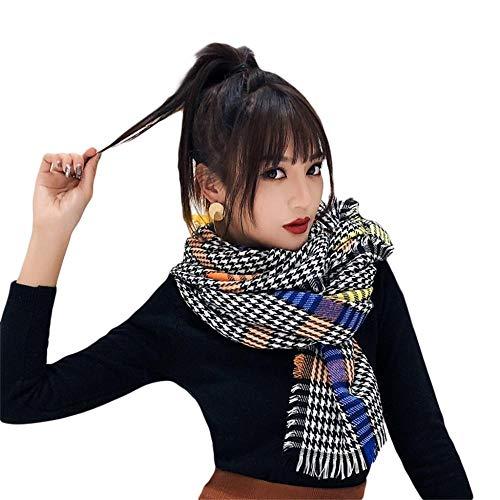YZJRFA sjaal vrouwelijk, plaid sjaal vrouwelijk herfst en winter warm super grote wilde zijde dual ussjaal mode slabbetje