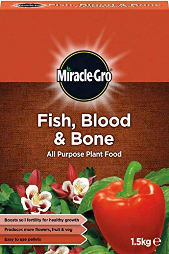 FISH BLOOD / BONE PLANT FOOD. 1.5kg PACK. ALL PURPOSE. BOOST FERTILITY & GROWTH.