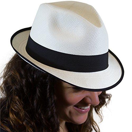 Un Chapeau Panama Traditionnel avec Une différence: variété de Nouvelles Couleurs, Style Trilby Fedora.