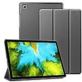 """AMOYE Hülle für Samsung Galaxy Tab A7 10.4"""", Dreifach Falt Klapp Schutzhülle Hülle Standfunktion, Leichte Schutzhülle Hülle Samsung Tab A7, Silber Grau"""