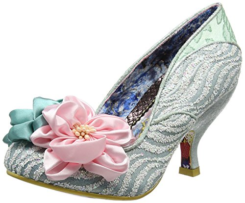 Irregular Choice Damen Little Peaches Pumps, Grün (Mint A), 38 EU