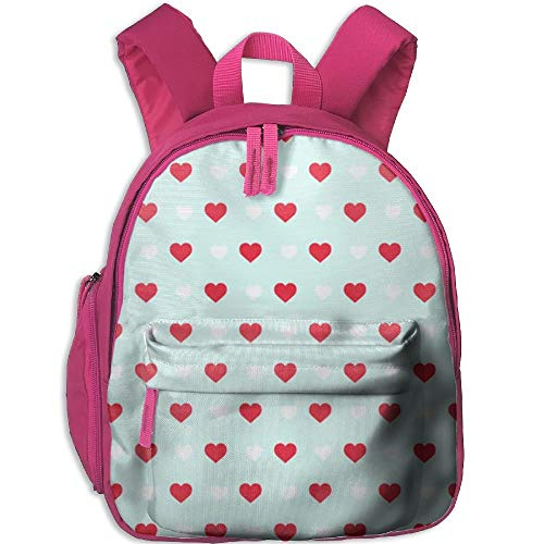 Yuanmeiju Love Student School Bags Feet Super Bookbag