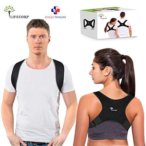 LIFECORP Correcteur de Posture Dos - Redresse Dos pour Homme et...