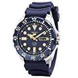 セイコー Seiko Diver Automatic Blue Dial Blue Rubber Mens Watch SRP605K2 [並行輸入品]