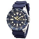 セイコー Seiko Diver Automatic Blue Dial Blue Rubber Mens Watch SRP605K2 並行輸入品