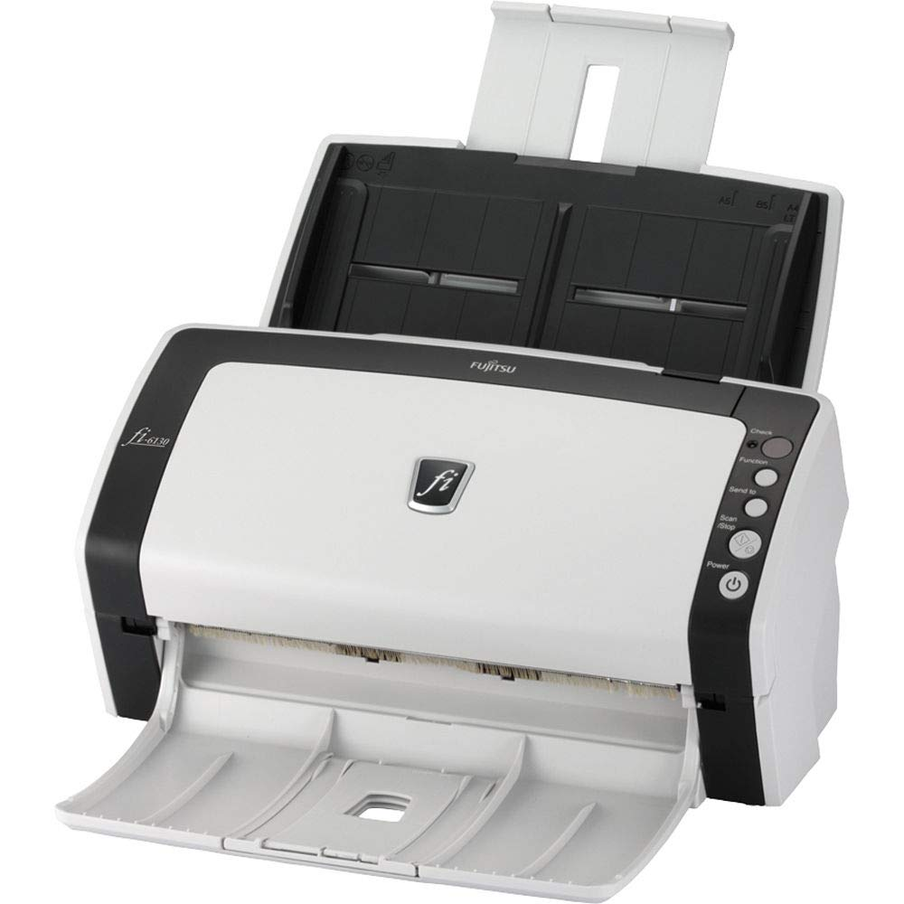 Fujitsu Fi 6130 Sheetfed Scanner Grayscale