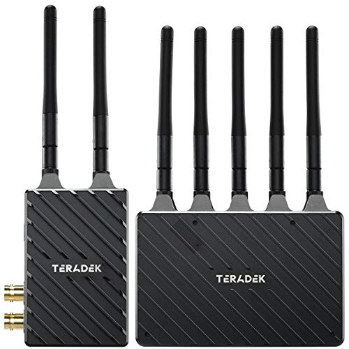 Teradek Bolt 4K LT 750 Wireless Transmitter and Receiver Kit, Video Transmission System with Zero-Delay and 10-Bit HDR Video, 3G-SDI/HDMI, Up to 4Kp30 / 1080p60, 750FT Range