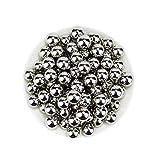 Para molino de bolas de laboratorio, bola de acero inoxidable 304 bola de acero inoxidable, bolas de molienda de tejido de bola 3 4 5 6 7 8-11mm0.5kg