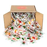 Lollipop Bulk Box - 5 full Pounds (230 pops) of Your Favorite Fruit Flavored Lollipops!