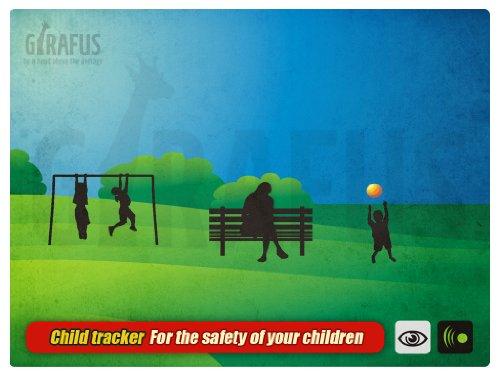 Guardian Angel 2 Kid's Tracker Child finder Locator Alarm Protection Security Kinderfinder Abbildung 3