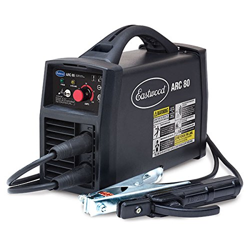 Eastwood Arc 80 Inverter Stick Welder Mig/Stick Welder Hot Start Handheld Electric Arc Welder Anti-Stick 110 Volt