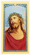 WJ Hirten S24-114 Oracion Al Gran Poder De Dios Clear Holy Cards