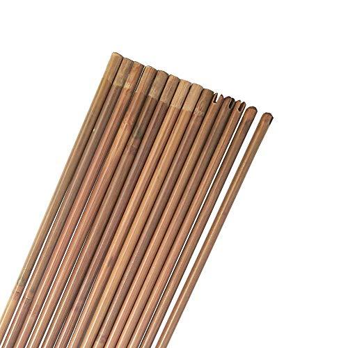 MILAEM 12 Piezas Tiro con Arco de bambú 32 Pulgadas Ejes de Flecha para DIY Caza Diámetro de Flecha 8 mm