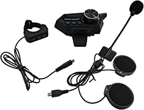Fone de ouvido para capacete, Romacci Fone de ouvido para capacete de motocicleta Fone de ouvido sem fio Bluetooth 5.0 par...