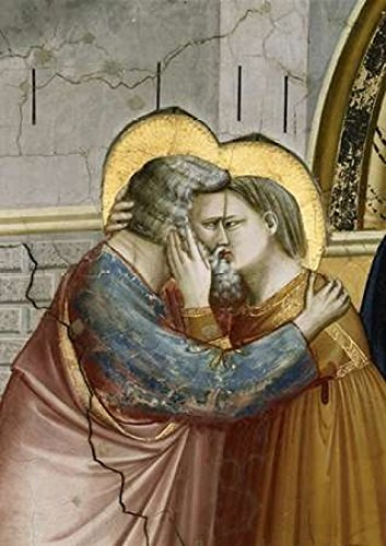 Posterazzi Meeting at the Golden Gate-Detail Poster Print by Giotto, (10 x 14)