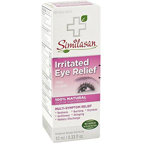 Similasan Pink Eye Relief Eye Drops 0.33 oz (Pack of 2)