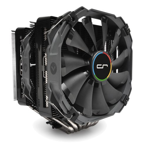 Cryorig R1 Ultimate Dual Tower Heatsink for AMD/Intel CPU - Black