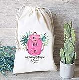 Bachelorette Survival Kit, Hangover Kit Bag, Girls Weekend Bachelorette Party Favor Bag, Weekend Tote Bag