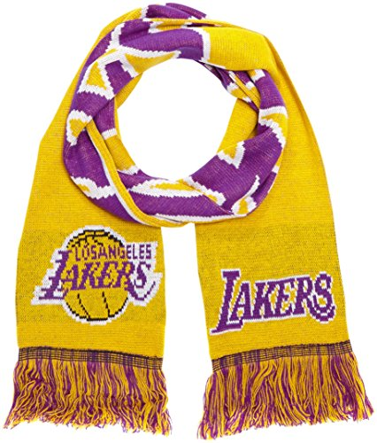 Forever Collectibles Schal NBA Fanschal LOS Angeles Lakers, Mehrfarbig, One size