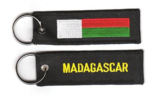 Schlüsselanhänger Madagaskar Anhänger Fahne Flagge NEU