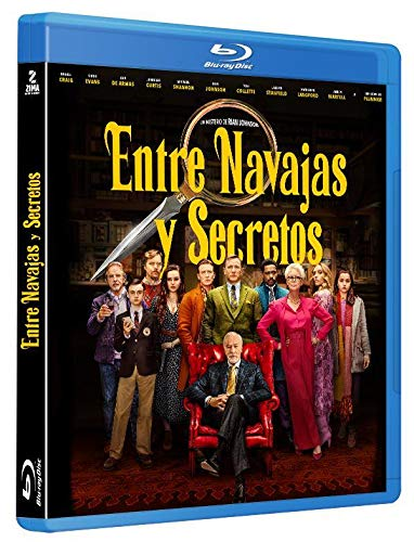 Entre navajas y secretos [Blu-ray]