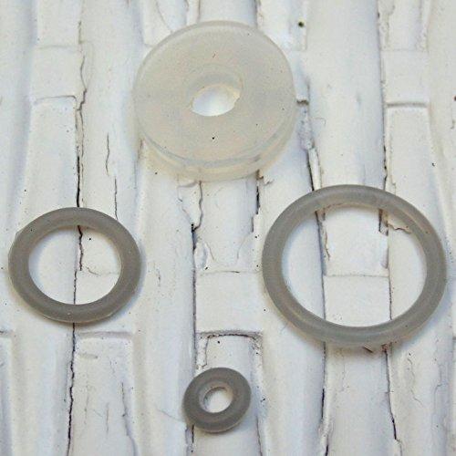 Magefesa PRACTIKA PLUS - JUNTAS SILICONA compatible con olla a presión súper rápida Magefesa PRACTIKA PLUS y ATHENAS. Repuesto oficial directo desde el fabricante
