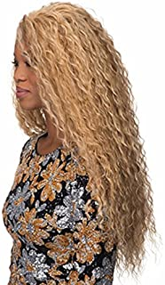 Fashion exotic fluffy long curly wigs for women blond SW0033