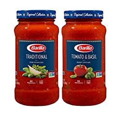 BARILLA REGIONAL COLLECTION PASTA SAUCES: We've reimagined our pasta sauces to bring the passion of Italy to all of your dishes with more distinct premium flavors, textures and quality PASTA SAUCE VARIETY PACK: This premium BARILLA pasta sauce variet...