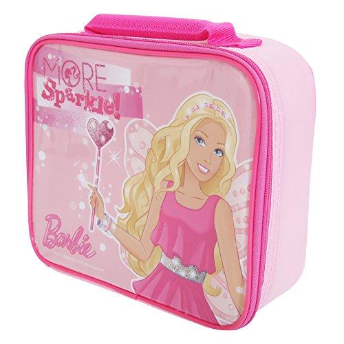 Barbie da ragazze, con borsa per il pranzo, plastica, Rosa, taglia unica