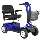 Golden Technologies - Companion - Full Sized Scooter - 4-Wheel - Blue