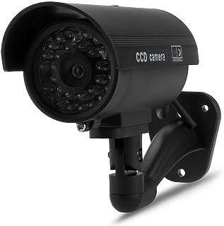 SODIAL (R) maniqui camara de vigilancia camara de la bala con LEDs IR simulacion