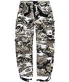 Surplus Raw Vintage - Airborne Trousers - Pantalon - Homme - Bianco (Urban) - XXL