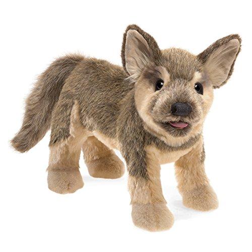 Folkmanis German Sheperd Puppy Hand Puppet, 3116