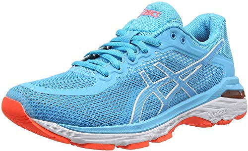 ASICS Damen Gel-Pursue 4 Laufschuhe, Blau (Aquarium/Aquarium 400), 37 EU