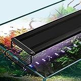 Luz LED Para Acuario con Temporizador de Encendido / Apagado Automático, 3 Modos de Luz Regulables, Soporte Telescópico Luz de Tanque de Peces de Espectro Completo Luz de Agua Dulce Multicolor